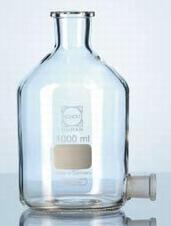 Stutzenfles 1000  ml (Stutzenflasch)