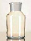 Standfles Wijdhals 1000 ml / Kalk-Sodaglas