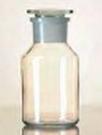 Standfles Wijdhals met NS stop 1000 ml / Kalk-Sodaglas